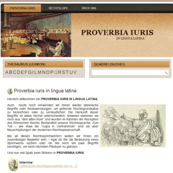 Proverbia Iuris